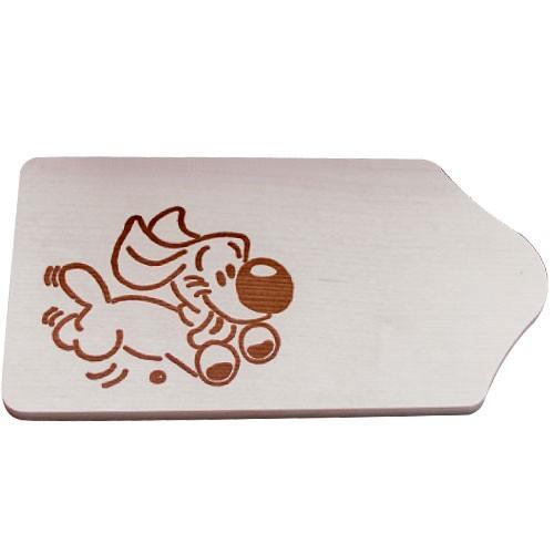 fr hst cksbrettchen holz mit gravur motiv hund zum selbstgestalten bemalen basteln malen. Black Bedroom Furniture Sets. Home Design Ideas